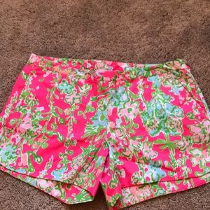 Lilly Pulitzer Southern  Charm Shorts